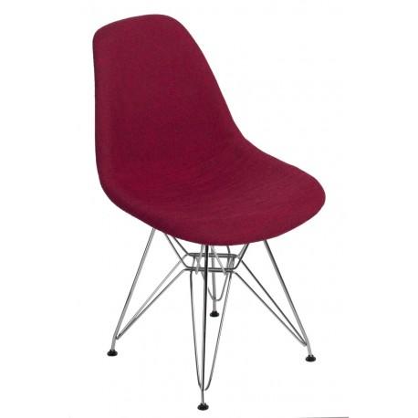 Krzesło P016 DSR Duo czerwono szare