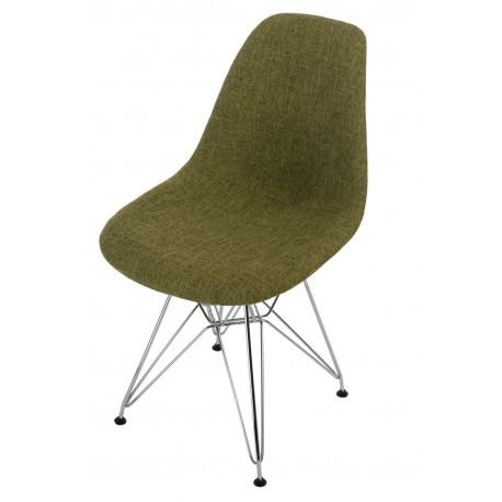 Krzesło P016 DSR Duo zielono szare