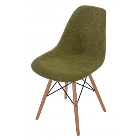 Krzesło P016W Duo zielono szare