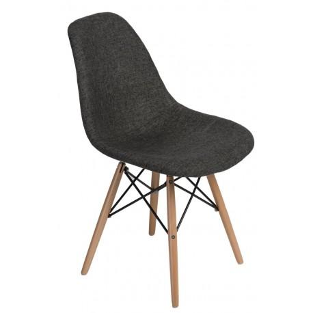 Krzesło P016W Pattern szare/pepitka