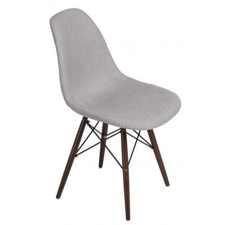 Krzesło P016W Pattern szar-patch /dark