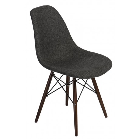Krzesło P016W Pattern szar-pepitka /dark