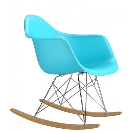 Krzesło P018 RR PP ocean blue insp. RAR plozy
