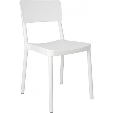 Krzesło Lisboa białe