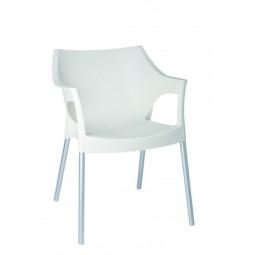 Krzesło Pole białe