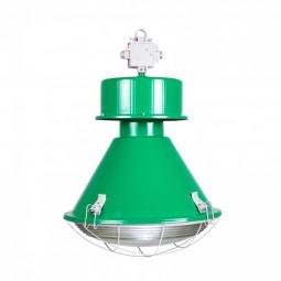 Lampa Kwoka połysk zielony