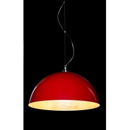 Lampa wisząca Luminato 70cm czerwona