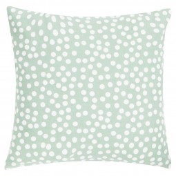 Poduszka Allover Dots 45x45 zielona