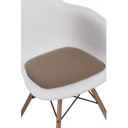 Poduszka na krzesło Arm Chair beżowa