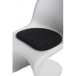 Poduszka na krzesło Balance szara ciemna