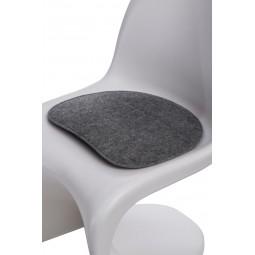 Poduszka na krzesło Balance szara jasna