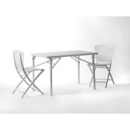 Stół składany Zac biały