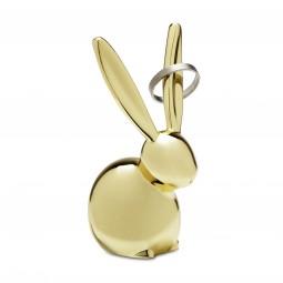 Wieszak na biżuterię Zoola Królik Brass