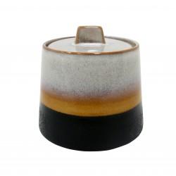 Miska ceramiczna na cukier 70's