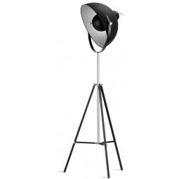 Lampa podłogowa Hollywood czarna h.183cm