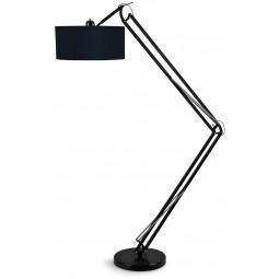 Lampa podłogowa MILANO czarna
