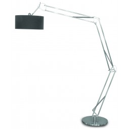Lampa podłogowa MILANO XL niklowana