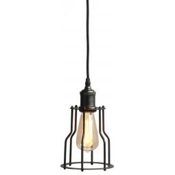 Lampa industrialna RIGA czarna - It's About Romi