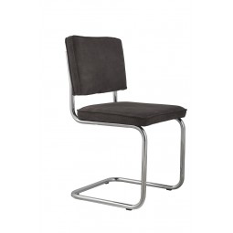 Krzesło RIDGE RIB szare 6A