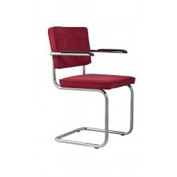 Fotel RIDGE RIB czerwony 21A