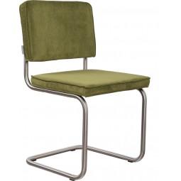 Krzesło RIDGE BRUSHED RIB zielone 25A