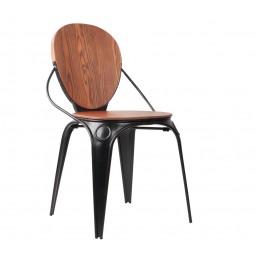 Krzesło LOUIX antyczny czarny