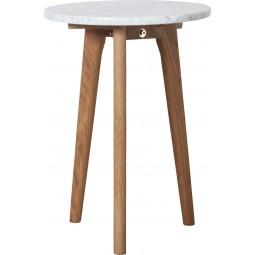Stolik biały STONE S
