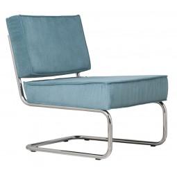 Krzesło Lounge RIDGE RIB niebieskie