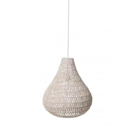 Lampa wisząca CABLE DROP biała