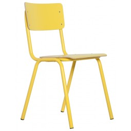 Krzesło BACK TO SCHOOL HPL żółte