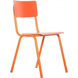 Krzesło BACK TO SCHOOL HPL pomarańczowe