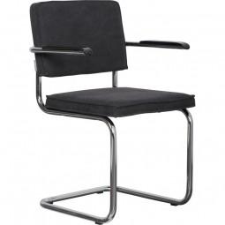 Krzesło RIDGE VINTAGE czarne