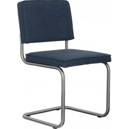 Krzesło RIDGE BRUSHED VINTAGE niebieskie