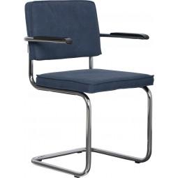 Fotel RIDGE VINTAGE niebieski