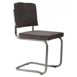 Krzesło RIDGE KINK RIB szare 6A