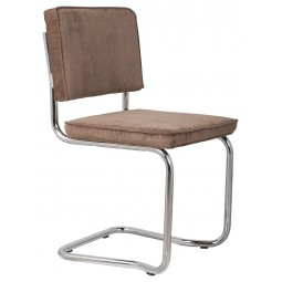 Krzesło RIDGE KINK RIB kawowe 8A