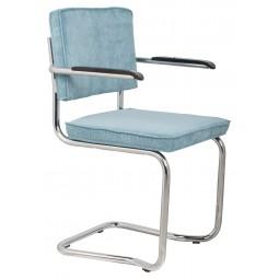 Fotel RIDGE KINK RIB niebieski 12A