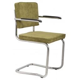 Fotel RIDGE KINK RIB zielony 25A