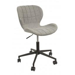 Krzesło biurowe OMG czarno/szare