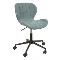 Krzesło biurowe OMG czarno/niebieskie
