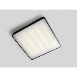 Plafon LAXO 60x60 - grafitowy